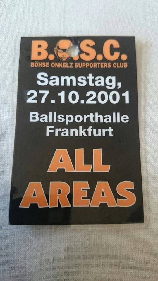 2001 Ballsporthalle Frankfurt All Areas