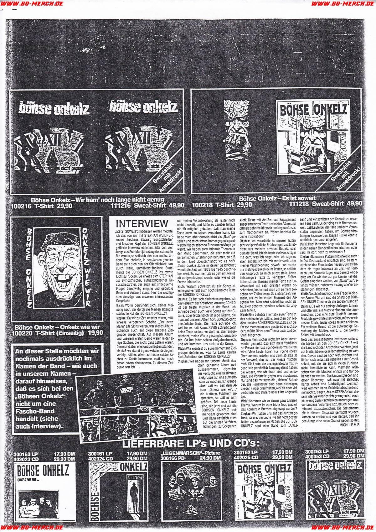 EMP 1991 Interview